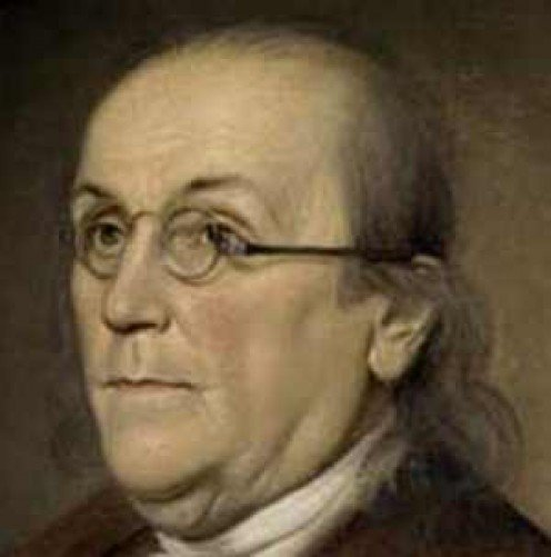 Ben Franklin, the inventor of bifocals!