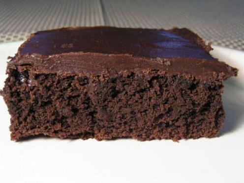 Mmmm...brownie...