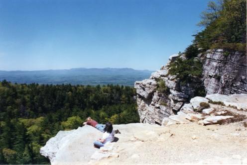 View from the Shawangunks
