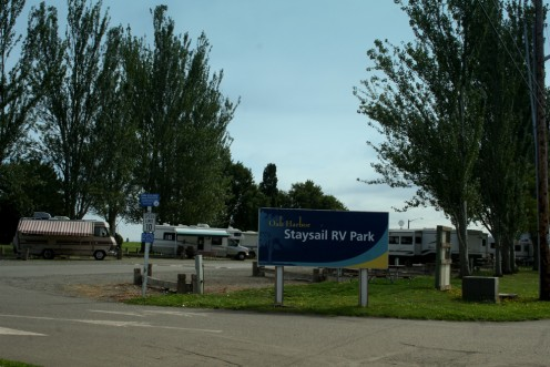 Stay Sail RV Park near Windjammer park, has a walking beach and play area for kids