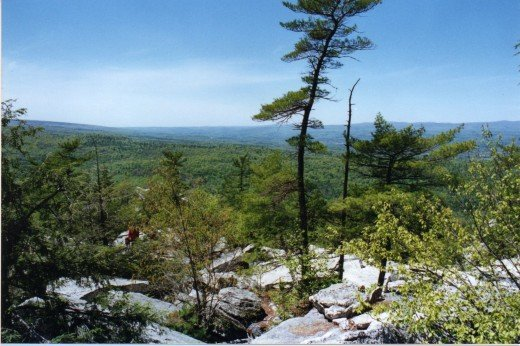 """Another view from atop the """"Gunks"""""""