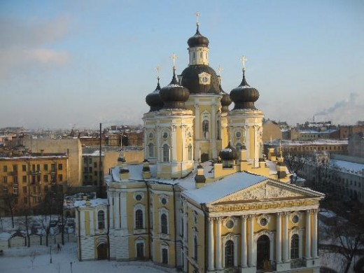 The Vladimir Church.