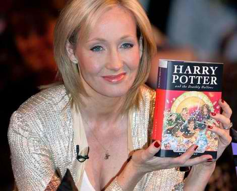 The famous author, former teacher JK Rowling (photo courtesy of http://www.topnews.in/)