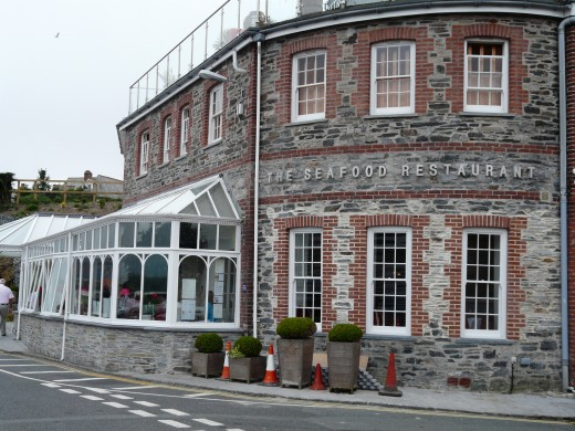 Rick Stein's Seafood Restaurant, Padstow, Cornwall: