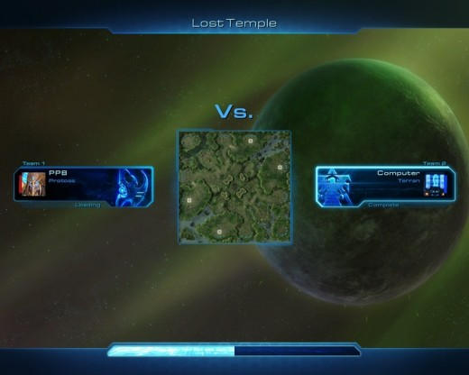 Your opponent is a protoss! Now you know your basic strategy.