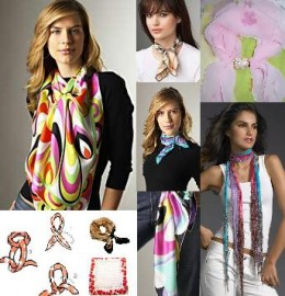Scarves can be worn many ways and serve as the perfect complement to most any outfit.