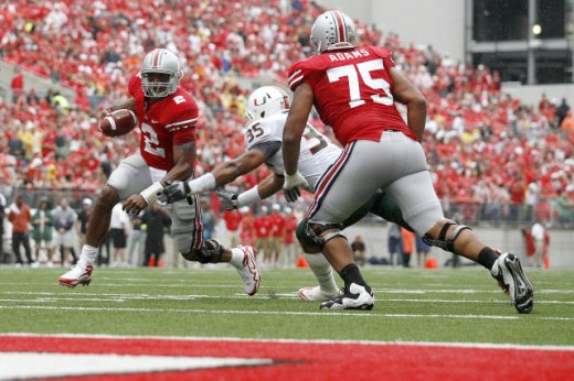 Ohio State defeated Miami,FL 36-24 in week 2.