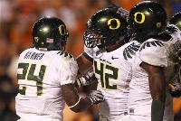 Oregon went to Knoxville and drilled Tennessee 48-13 on 9/11/10.