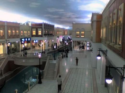 Villagio Mall - Venice twice removed