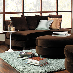 oval lounger (3-piece suite)
