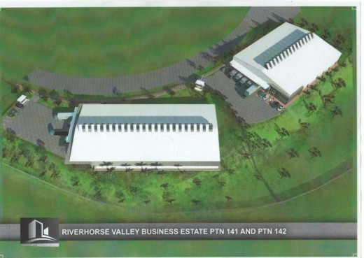Riverhorse Valley 3000 square meter showroom or warehousea at R 45.00