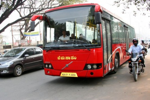 Volvo Bus(My Recommendation)