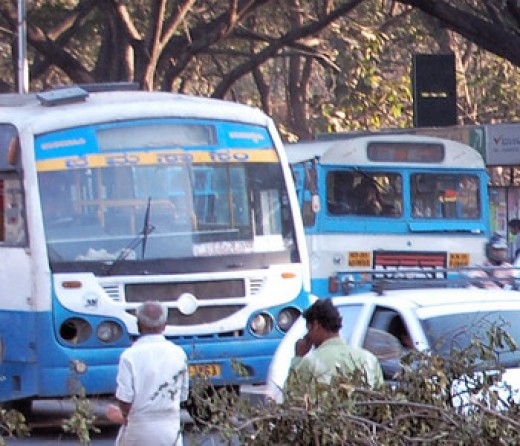 Local BMTC buses