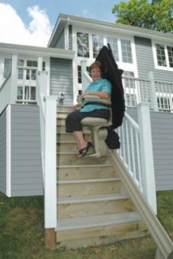 Outdoor Stair Lift Provide More Accessibility For The Elderly and Disabled People