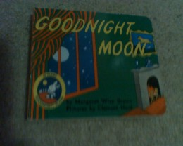 """Goodnight Moon"" board book"