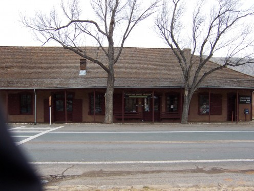 Tunstal General Store, now a museum.