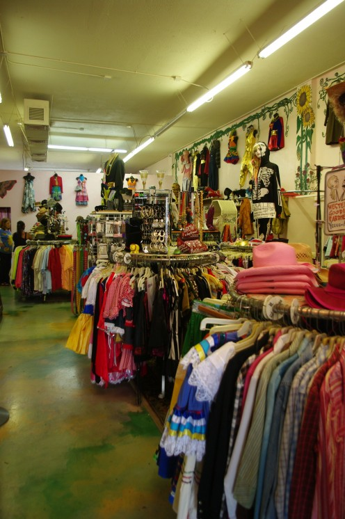 They have an extensive collection of clothes from the 60s and 70s