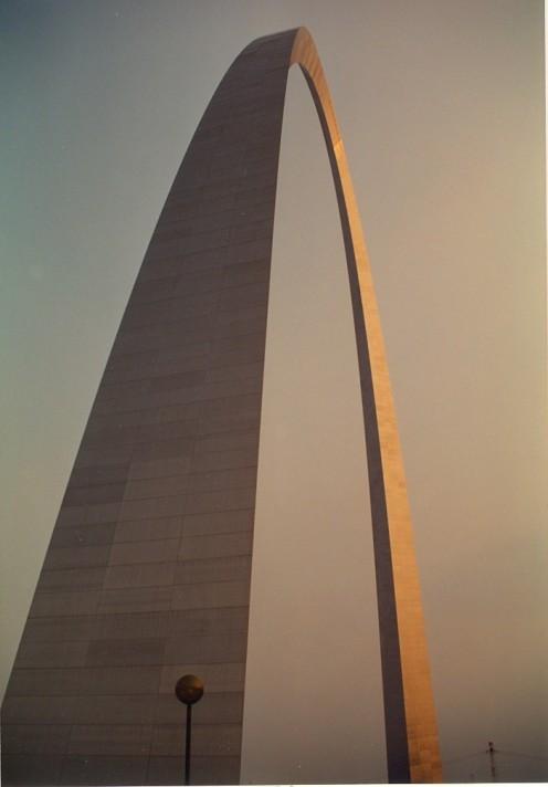 Gateway Arch, St. Louis.