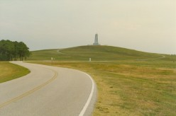 The Wright Brothers National Memorial, Kitty Hawk, North Carolina.