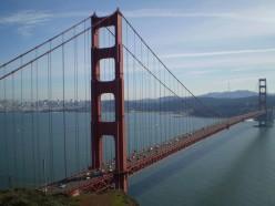 The Golden Gate Bridge, San Francisco, California.