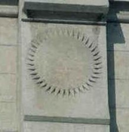 Representing the highest degree of glory the Sunstones are seen of the Salt Lake Temple