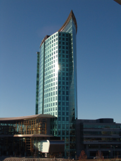 Central City Tower in Surrey -designed by Architect Bing Thom (Uploaded by Rob MacTavish)