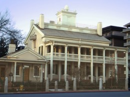 Brigham Young's house built in 1854.
