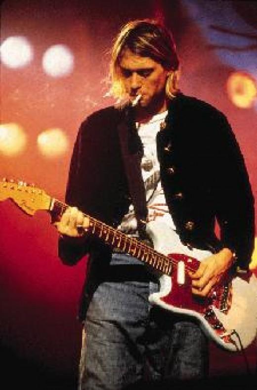 The left-handed guitar slinger