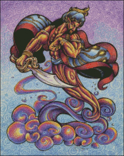 D is for Djinn -- Another word for Genie