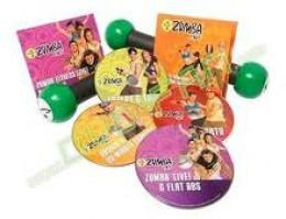 The Zumba DVD collection