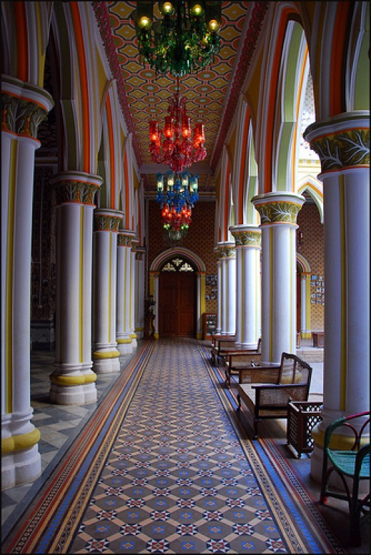 A Corridor In The Palace