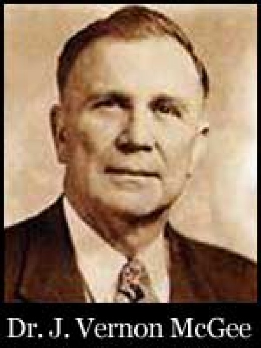 J Vernon Magee, one of the first and finest radio preachers...