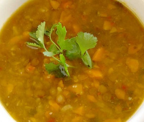 Lentil Soup - perfect soup to eat and lose weight!