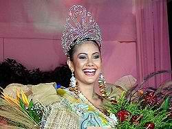 Tabetha Jo Frick, Miss Bicolandia 2007 (Photo courtesy of Wikipedia-Bikol)