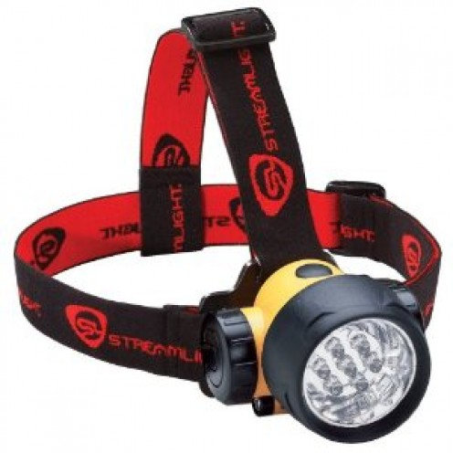 Streamlight 61052 Septor LED Headlamp with Strap, Yellow