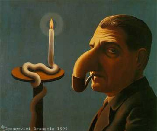 Rene Magritte...Philosopher's Lamp