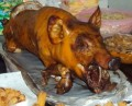 Letchon Baboy - BBQ Roasted Pork in the Philippines