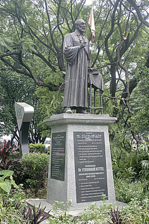 Rev Ferdinand Kittel Statue