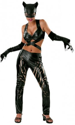 Catwoman costume. Available from PrettyPartyPlace.com