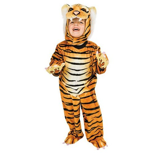 Child's tiger costume. Available from PrettyPartyPlace.com