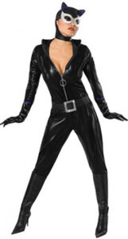 Sexy catwoman. Available from AnniesCostumes.com