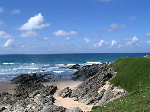 Little Fistral Beach, Newquay, Cornwall