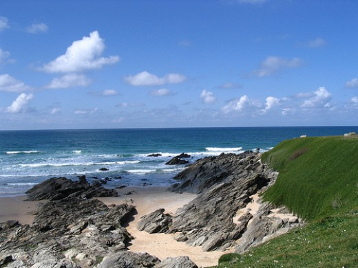 Little Fistral Beach, Newquay, Cornwall