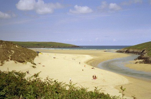 10 Bays in a Day, Newquay, Cornwall.  Crantock Beach.