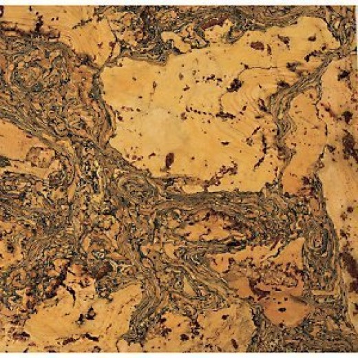 Cork flooring comes in various colors and designs