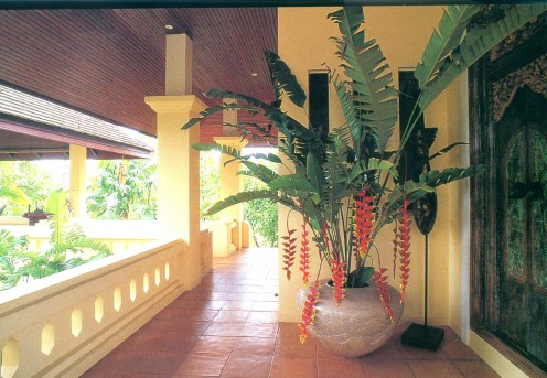 A beautiful verandah