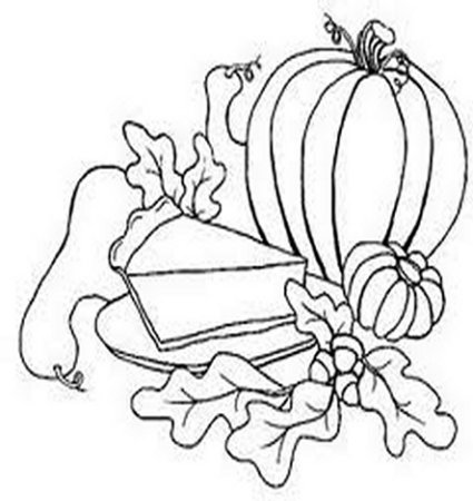 Thanksgiving Dinners Menu - Harvest Festival - Thanksgiving Holiday Dinners Free-Kids Coloring Pages and Colouring Pictures to Print