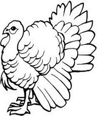 Thanksgiving Dinners Menu - Survivor till Next Year - Thanksgiving Holiday Dinners Free-Kids Coloring Pages and Colouring Pictures to Print
