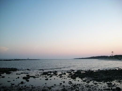 Dauphin Island at Sunset