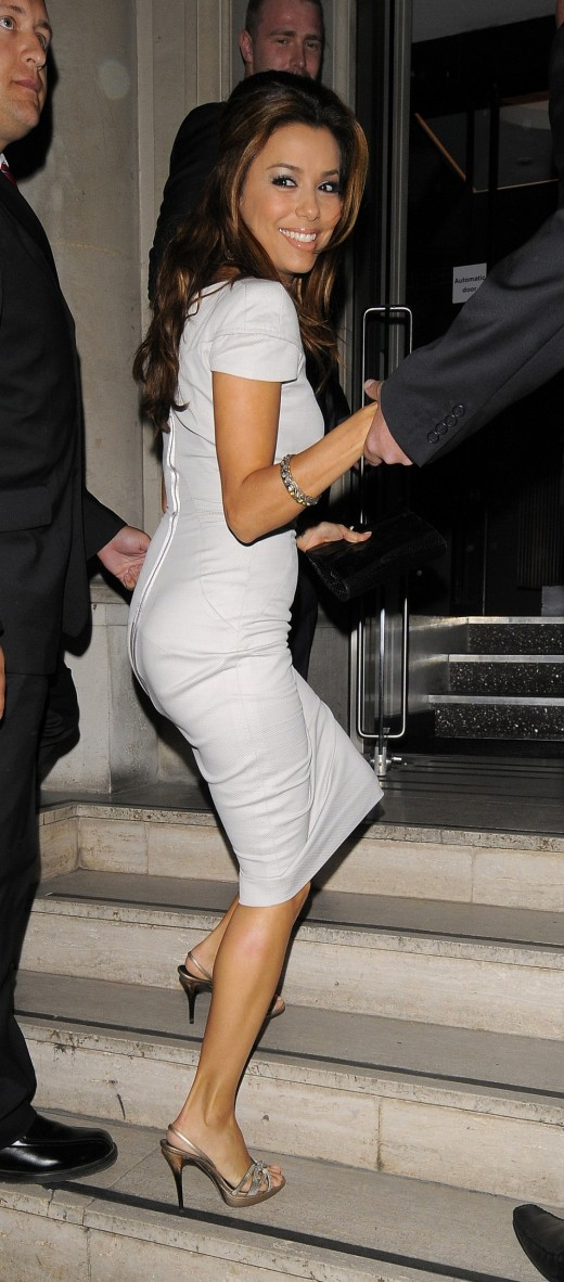 Eva Longoria In Mayfair, England